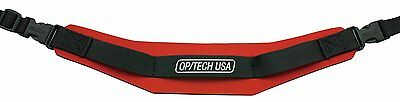 OP/TECH Pro Strap - Red 1502012 Optech