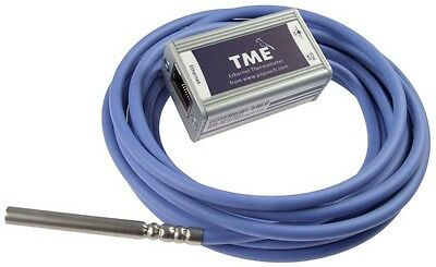 IP Ethernet thermometer, email notification, TME