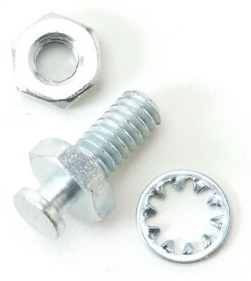 """Edelbrock 8018 Automatic Transmission Kickdown Cable Stud - 1/4"""" - TH350"""