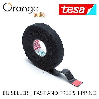 TESA-51608-09 Original Wiring Loom Harness Adhesive Cloth Fabric tape (9mmx25m)