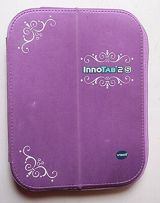 Genuine VTech Innotab 2S Pink Folding Carry Case - Good Condition - USED C342
