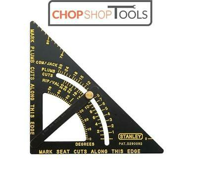"""Stanley Adjustable Quick Roofing Square 170mm 6.3/4""""  STA46053"""