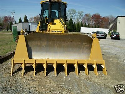 "dozer blade root rake, 120"" wide, 1550 lbs AR400 steel NEW, USA Attachments"