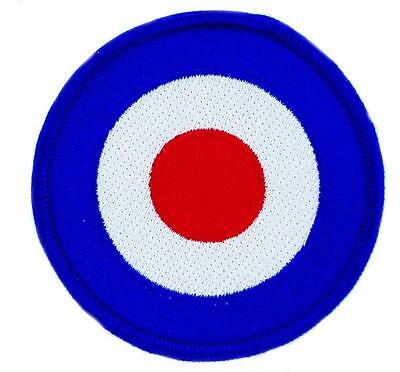 PATCH ECUSSON BRODE target  MOD MODS THE WHO TARGET UK COCARDE SCOOTER RAF r2