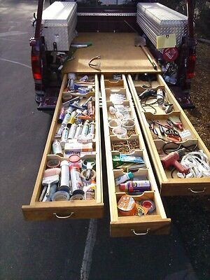 Truck tool drawers