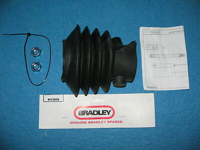 Genuine Bradley Kit 2039 rubber bellows for HU12/14 3500 kg trailer couplings