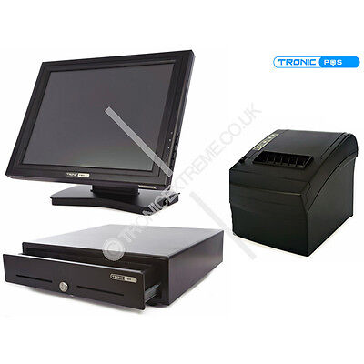 NEW ePos Kit Touch Screen Monitor Thermal Printer Cash Drawer Retail Restaurant