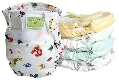 Kushies Infant & Toddler All-in-One Ultra Washable Reusable Cloth Diaper 533503