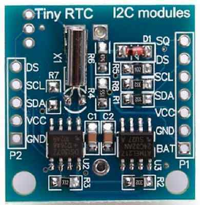 TINY RTC I2C AT24C32 DS1307 REAL TIME CLOCK Module Board For ARDUINO UK Stock UK
