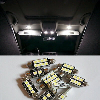 10 pcs White Canbus SMD LED Bulb Interior Light Kit for Volvo V70 V70R 1998-2007