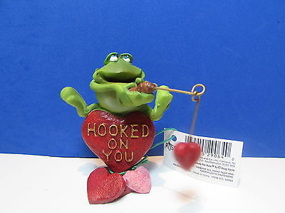 RUSS VALENTINES TOADILY TOAD/FROG - Hooked On You - LAST ONES