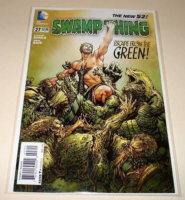 SWAMP THING # 27  DC Comic   March 2014   NM    The New 52!