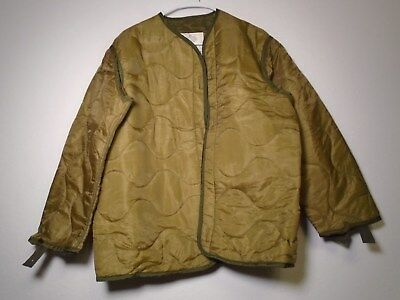 Usgi Us Military M-65 Field Jacket M65 Cold Weather Coat Liner Small 1981 New