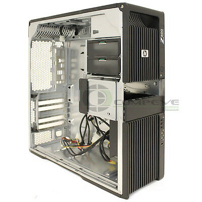 HP Z600 Workstation Chassis with Front Panel Case MPN 468624-002