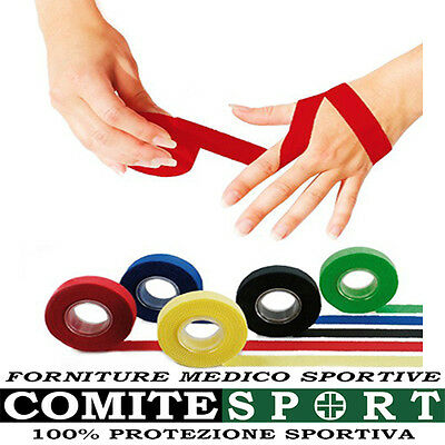 CEROTTO SPORT TAPE Cm 2 x 10 M. / BENDAGGIO DITA, DISPONIBILE IN 7 COLORI,VOLLEY
