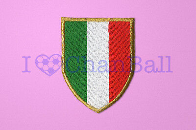 Italian League Scudetto 2011-2012 AC Milan Embroider Sleeve Soccer Patch (4)