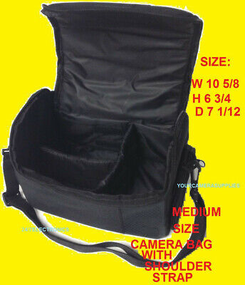 MEDIUM/LARGE BAG CASE to> CAMERA NIKON DSLR D3000 D3100 D3100 D3300 D3400 D3500
