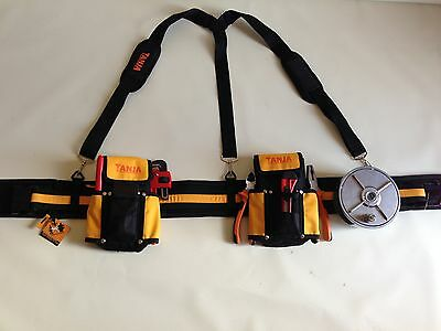 STEEL FIXERS PADDED TOOL BELT, WIRE WHEEL, SHOULDER BRACES Super Comfortable