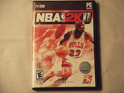 NBA 2K11  (PC, 2010) Complete Windows XP/Vista Game
