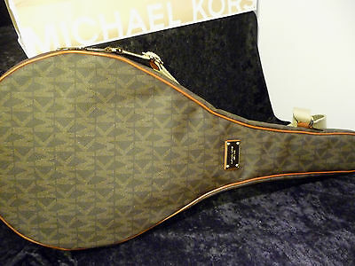 NEW Authentic Michael Kors Jet Set Signature Tennis Racquet Cover (RARE)