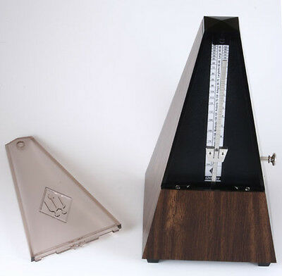 Wittner Walnut Grain Metronome with Bell