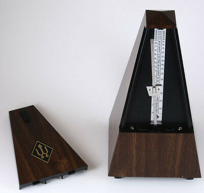 Wittner Walnut Grain Metronome without Bell