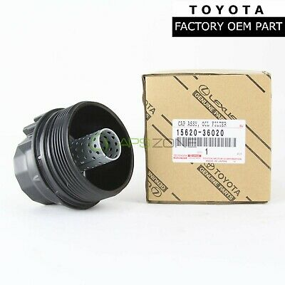 TOYOTA LEXUS SCION FACTORY OEM 15620-36020 ENGINE OIL FILTER HOUSING CAP HOLDER