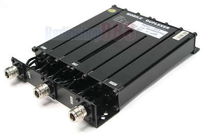 UHF 6 CAVITY DUPLEXER for radio repeater N connector SQ