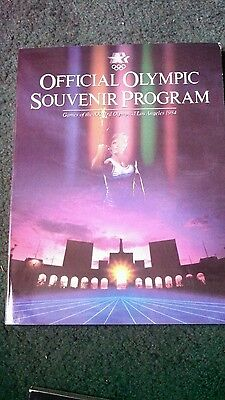 Official Olympic Souvenir Program (Los Angeles, 1984)