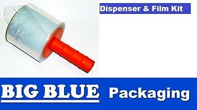 PACKAGING BUNDLING FILM with HAND HELD DISPENSER Stretch Wrap wrapping shipping