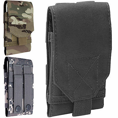 Universal Army Bag For Mobile Phone Belt Loop Hook Cover Case Pouch Holster New