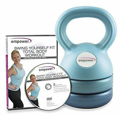 Empower 3-in-1 (Up to 12 lbs) Kettlebell - Brand New In Box