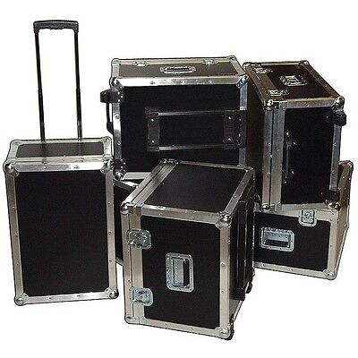 "Supplies & Accessories ATA Case w/Retractable Handle & Wheels - ID 23""x15""x10"""