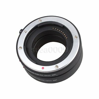 FOTGA Automatic AF Macro Extension Tube set 10mm 16mm for Canon EOS M EF-M mount