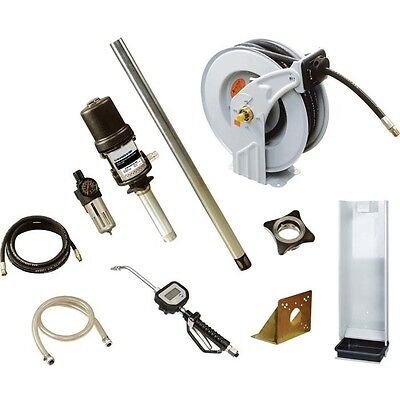 COMMERCIAL Oil Transfer Kit w/ 50 Ft Hose & More - 11 GPM - 870 Max PSI - 21 CFM