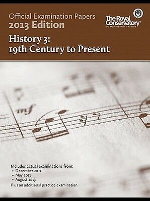 Official Examination Papers 2013 edition History 3 19th Century to Present