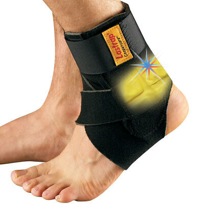 Lastrap Ankle Support with Thermovibe pad. Weak & Sprained Ankle Achilles Tendon