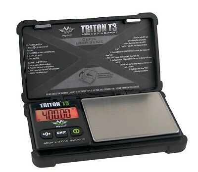 MyWeigh Triton T3-400 Feinwaage 400g / 0,01g Präzisionswaage Goldwaage scale