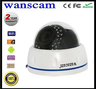 Hw0031 Wifi 720P Hd Ip Camera Alarm Security System Cctv Dome Onvif Tf Card P2P