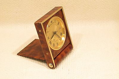 Vintage Rare Jaeger-Le Coultre Memovox Swiss made Travel  Alarm Clock with Date