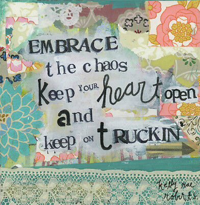 Kelly Rae Roberts Collection Wall Art  Embrace The Chaos 6 Square 100272002
