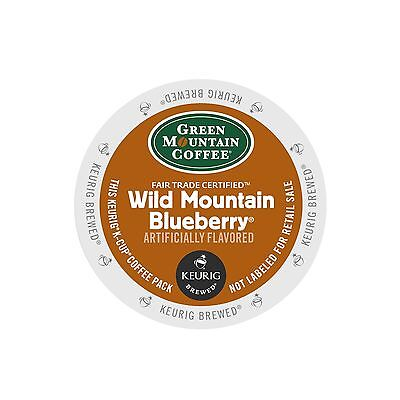 Green Mountain Coffee Wild Mountain Blueberry Coffee Keurig K-Cups 96-Count