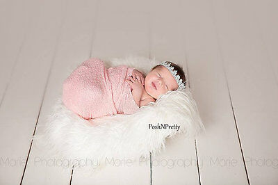 Stretch Knit Newborn baby Photography Wrap - Photo Props - Choose colors-So soft
