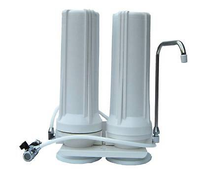 Quality two stage benchtop countertop tap water filter