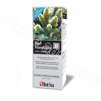 RED SEA REEF FOUNDATION B ALKALINITY 500ml, ADDITIVE, MARINE, CORAL, FISH