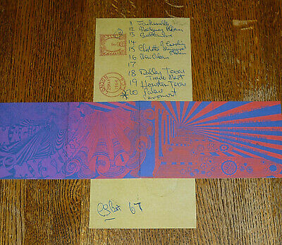 * * WOW! SALE on RARE BEATLES MAGICAL MYSTERY TOUR PARTY INVITE + 1964 SCHEDULE!