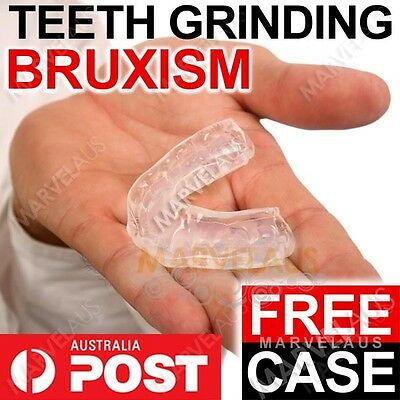 Teeth Grinding Grind Clench Clenching Tooth Night Sleeping Mouthguard Bruxism