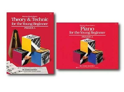 Bastien Piano Basics for the Young Beginner Primer A Level - Two Book Set