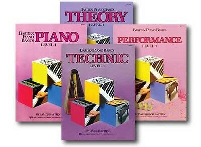 Bastien Piano Basics Pack, Level 1