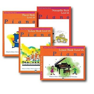 Alfred Basic Piano Library Course Pack Level 1A - Four book set
